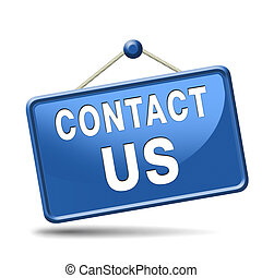 contact us icon - contact us for feedback icon or sign...