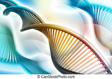 símbolo, ADN