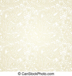 seamless pattern - hand draw ornate seamless pattern