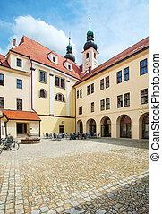 Telc. Unesco city - TELC, CZECH REPUBLIC. Unesco city,...