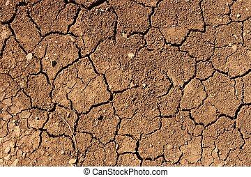 Soil - Dry soil texture