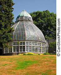 Conservatory - A photograph of a greenhouse located in a...