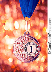 first place golden medal