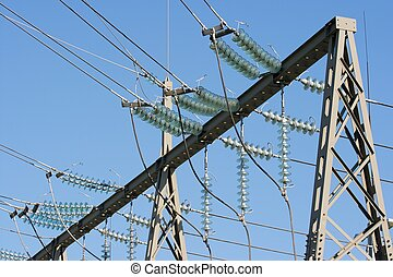 Electricity - High voltage electric line connections
