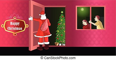 Happy Christmas vector design - Find Similar Images Happy...