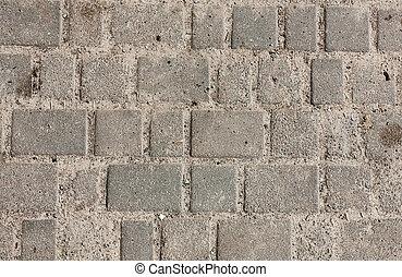 Seamless, tileable, textura, pavimentar, losas, arena