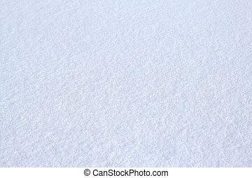 Snow texture - Untouched fresh snow natural texture