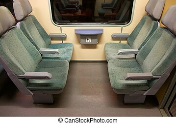 Train - Empty seats on a train