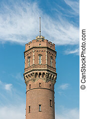 Old Dutch brickstone water tower
