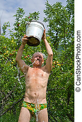 Man in orchard 2