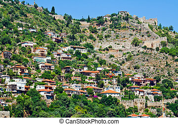 Turkish houses in Alanya - Turkish houses of Mediterranean...