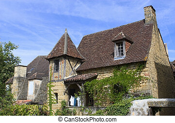 One of the oldest house in Sarlat