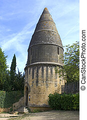 The lantern of the dead, a monument of Sarlat