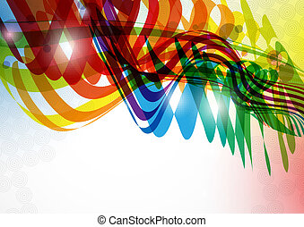Abstract Colorful Bckground. Vector Illustration. Eps 10.