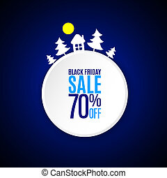 Black friday banner - Black friday applique banner on dark...