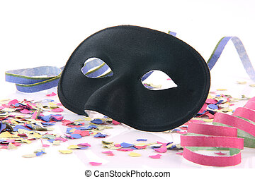 closeup black mask - carnival concepts paper closeup black...