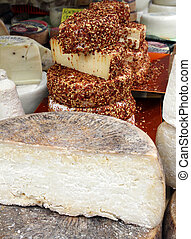 Traditional cheese - Some forms of traditional cheese
