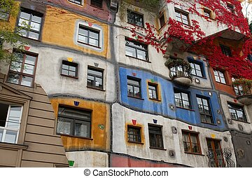 Vienna - The Hundertwasser house in Vienna