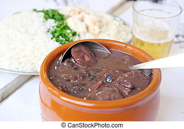 Feijoada - Typical brazilian dish, feijoada