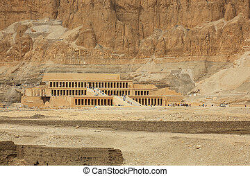 necrotério, Templo, Hatshepsut