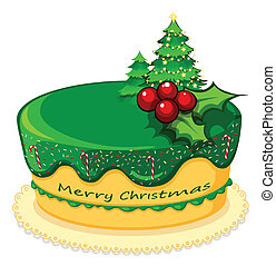 Christmas cake Clipart Vector and Illustration. 4,894 ...
