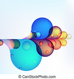 Abstract colored background. + EPS10 - Abstract colored...