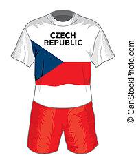 Czech republic football uniform