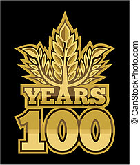 laurel wreath 100 years