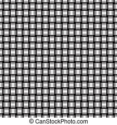Metal Grate - Metal Grid of Wires or Pipes Vector...