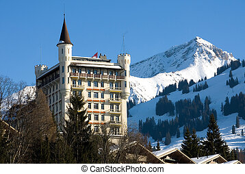 Surrounded by Snow - A luxury hotel in Gstaad, Switzerland