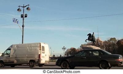 Bronze Horseman - St Petersburg Landmarks - Senate Square,...