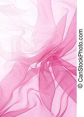 pink chiffon - soft pink chiffon with curve and wave