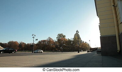 St Petersburg Landmarks - Senate Square, Constitutional...