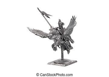 The tin soldier on pegasus - The tin tell-tale on pegasus...