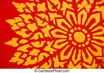 Buddhist pattern