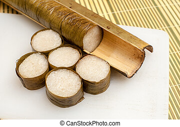 Lemang Ready to Eat on Eid Festival - Lemang is a...