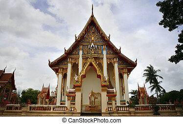 Wat Chalong - An image of wat chalong temple in phuket...