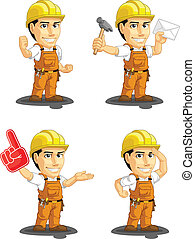 Industrial Construction Worker Cust