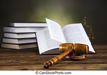 Gavel on legal code