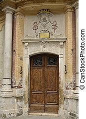Chiesa della Chiocciola, Siena 3 - Fotografia dellingresso...