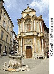 Chiesa della Chiocciola, Siena 2 - Fotografia della...
