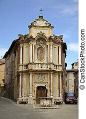 Chiesa della Chiocciola, Siena - Fotografia della splendida...
