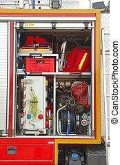 Fire brigade equipment