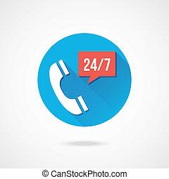Vector Call Service Icon