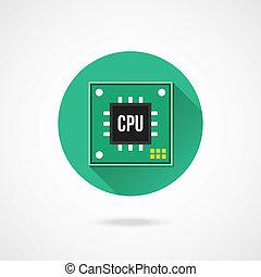 Vector CPU Icon