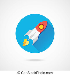 Vector Rocket Icon