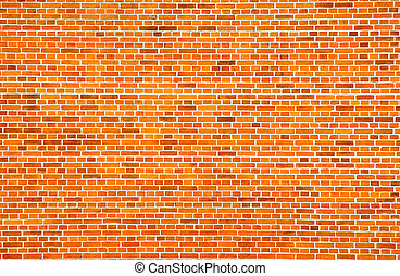 yellow brick wall - image of a large yellow brick wall