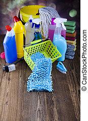 casa, limpieza, producto