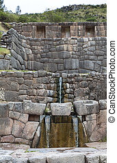 Construction of the Incas in Peru