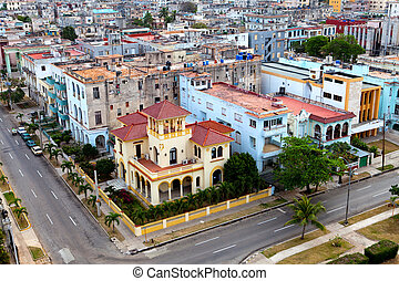 Cuba. Old Havana. Top view.